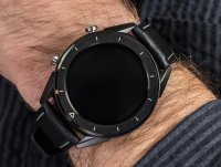 Zegarek czarny sportowy Lotus Smartime L50007-1 bransoleta - duże 6