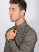 Zegarek czarny sportowy Seiko Prospex SSC739P1 pasek - duże 4