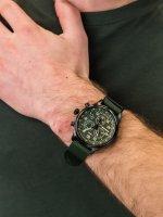 Zegarek czarny sportowy Timex Expedition TW2T72800 pasek - duże 5