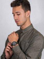 Zegarek czarny sportowy Timex Expedition TW4B16600 pasek - duże 4