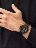 Zegarek czarny sportowy Timex Expedition TW4B17000 pasek - duże 5