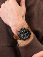 Zegarek czarny sportowy Timex Expedition TW4B17400 pasek - duże 5