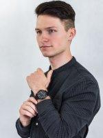 Zegarek czarny sportowy Timex Port TW2U01800 pasek - duże 4