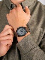 Zegarek czarny sportowy Traser P96 Outdoor Pioneer TS-109045 pasek - duże 5
