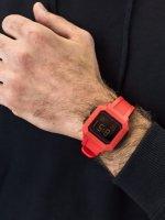 Zegarek czerwony sportowy Puma Remix P5019 pasek - duże 5