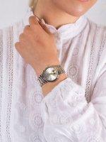 Anne Klein AK-3407SVTT damski zegarek Bransoleta bransoleta