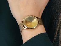 Anne Klein AK-3776MTGB Colorful Dial zegarek klasyczny Bransoleta
