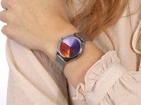 Anne Klein AK-3777MTSV Colorful Dial zegarek klasyczny Bransoleta