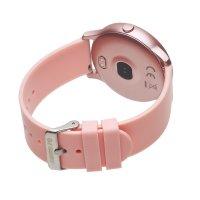 zegarek Garett 5903246288896 Smartwatch Garett Lady Rosa złoty różowy damski z krokomierz Damskie