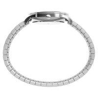 Timex TW2U40300 zegarek srebrny klasyczny Easy Reader bransoleta