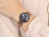 Zegarek damski  Flower S700LXVBMV-DF różowe złoto - duże 12