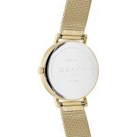 Obaku Denmark V248LXGIMG damski zegarek Slim bransoleta