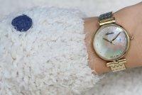 Adriatica A3736.114SQ zegarek złoty klasyczny Bransoleta bransoleta
