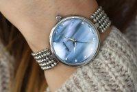 Adriatica A3731.514BQ zegarek srebrny klasyczny Damskie bransoleta