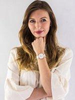 Anne Klein AK-1018RGWT zegarek damski Bransoleta