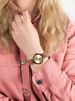 Zegarek damski Anne Klein Bransoleta AK-1362CHGB - duże 5