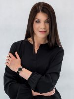 Zegarek damski Anne Klein Bransoleta AK-2130BKGB - duże 4