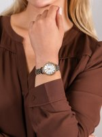 Anne Klein AK-2159SVTT damski zegarek Bransoleta bransoleta
