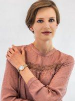 Zegarek damski Anne Klein Bransoleta AK-2670PMGB - duże 4