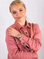 Anne Klein AK-3001LPSV zegarek damski Bransoleta