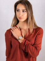 Zegarek damski Anne Klein Bransoleta AK-3102MPGB - duże 4