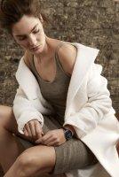 Anne Klein AK-3160BKGB zegarek czarny fashion/modowy Bransoleta bransoleta
