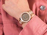 Anne Klein AK-3160TNRG zegarek fashion/modowy Bransoleta