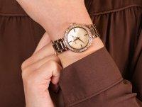 Anne Klein AK-3358PMRG zegarek klasyczny Bransoleta