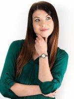 Anne Klein AK-3387SVTT zegarek damski Bransoleta