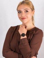 Anne Klein AK-3484BKRG zegarek damski Bransoleta