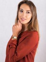 Anne Klein AK-3614CHGB zegarek damski Bransoleta
