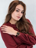Anne Klein AK-2358RGBK zegarek damski Pasek