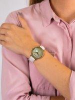 Anne Klein AK-2790CMWT damski zegarek Pasek pasek