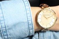 Armani Exchange AX5324 zegarek złoty klasyczny Fashion pasek