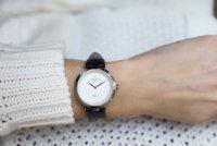 Atlantic 29036.41.21L zegarek srebrny klasyczny Elegance pasek