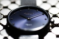 Atlantic 29038.41.57MB zegarek srebrny klasyczny Elegance bransoleta