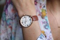 zegarek Atlantic 29038.44.08L różowe złoto Elegance