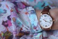 Atlantic 29038.44.08L Elegance klasyczny zegarek różowe złoto