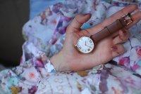 Atlantic 29038.44.08L zegarek różowe złoto klasyczny Elegance pasek