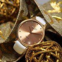 Atlantic 29038.44.77L zegarek różowe złoto klasyczny Elegance pasek