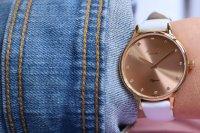zegarek Atlantic 29038.44.77L różowe złoto Elegance