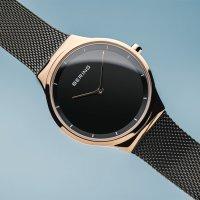 zegarek Bering 12131-162-CZ różowe złoto Classic