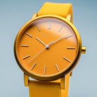 Bering 16934-699 zegarek żółty klasyczny True Aurora pasek