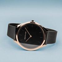Bering 17039-166 zegarek różowe złoto klasyczny Ultra Slim bransoleta