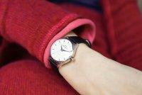 Bisset BSAE79SISX03BX zegarek srebrny klasyczny Klasyczne pasek