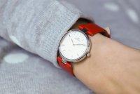 Bisset BSAF21SISX03BX zegarek srebrny klasyczny Klasyczne pasek