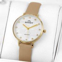 Bisset BSAF29GISX03B1 zegarek złoty klasyczny Klasyczne pasek