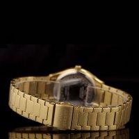 Bisset BSBE67GISX03BX zegarek złoty elegancki Klasyczne bransoleta