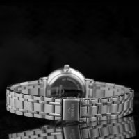 Bisset BSBE70SISX03BX zegarek srebrny klasyczny Klasyczne bransoleta