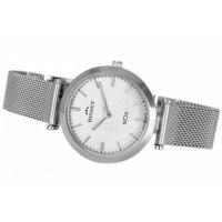 Bisset BSBE92SISX03BX zegarek srebrny elegancki Klasyczne bransoleta